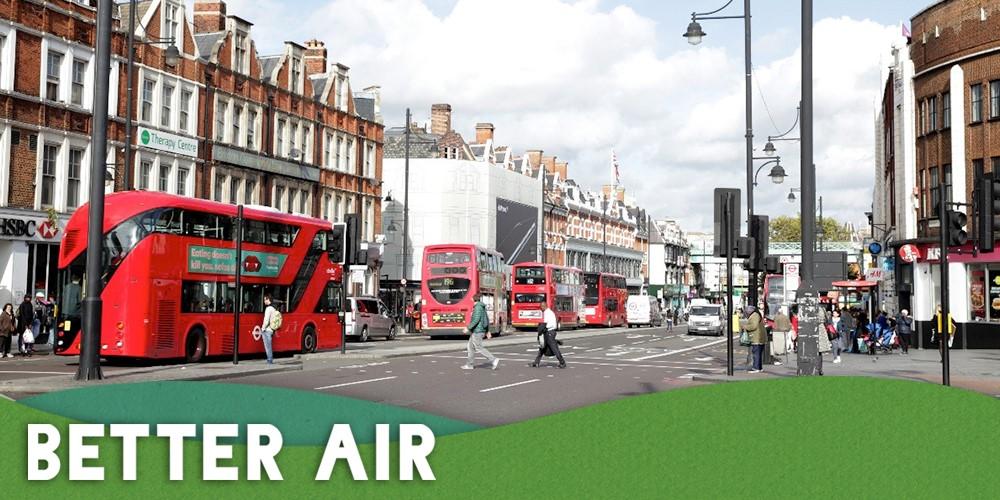 Primary School Green Screens Clean Air Week