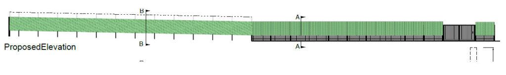 Cross section Green Screen