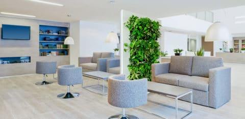 LiveDivider - groene kamer afscheiding