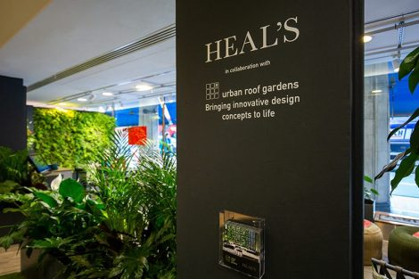 Live Panel at Heal's London Entrance