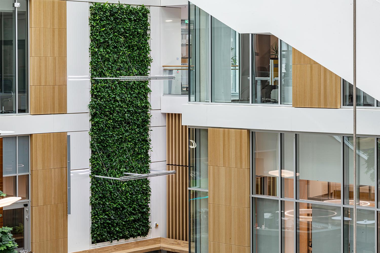 Mobilane LivePanel Indoor Sartorius Duitsland Groene wand systeem BH