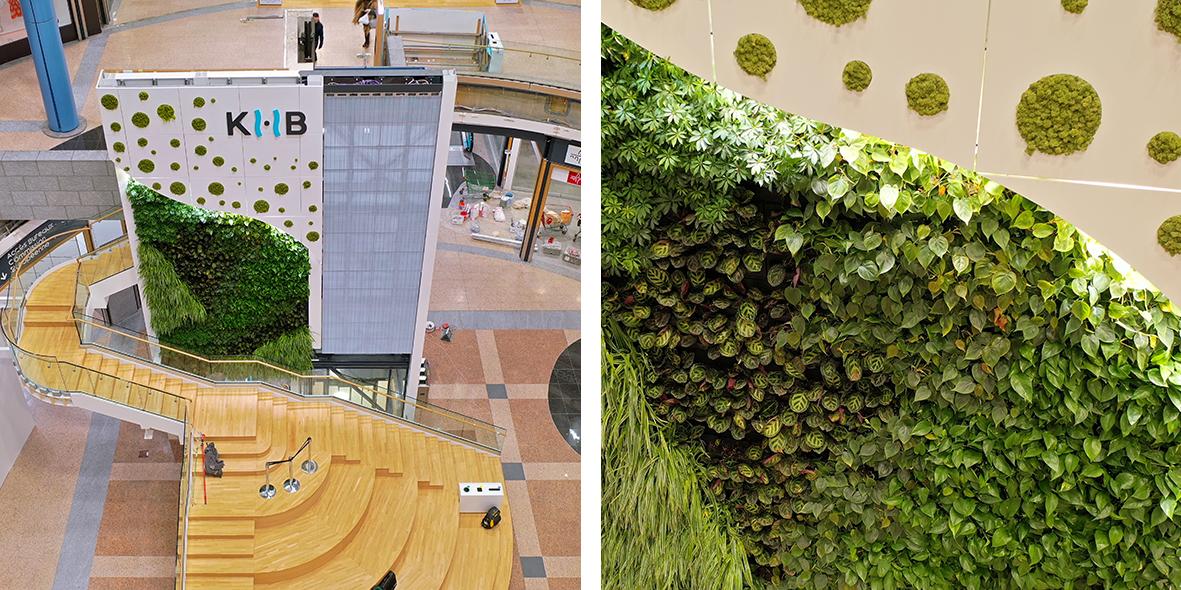 Mobilane LivePanel Indoor Winkelcentrum Auchan Luxemburg