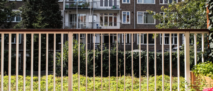 Mobilane MobiRoof groen dak op balkon in Amsterdam