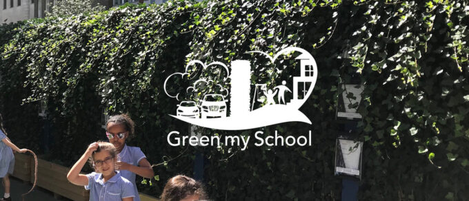 Mobilane Header Green My School | Living Green Screens as pollution barriers