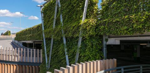 Mobilane WallPlanter Bracknell Outdoor begroeiings systeem MIA VAMIL