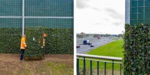 Mobilane website IT Green Screens residential area Rijnvliet Nieuwegein