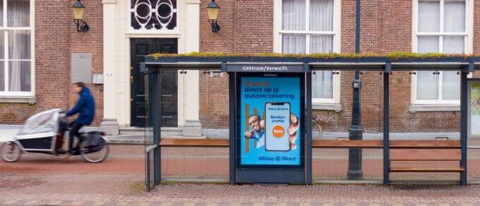 Mobilane website Header Groene bushaltes Haarlem