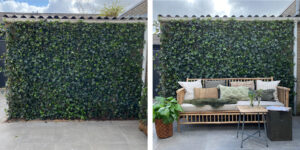 Mobilane Garden inspiration: various ways to use green fences 1