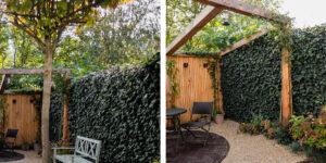 Mobilane Garden inspiration: various ways to use green fences 3