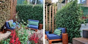 Mobilane Garden inspiration: various ways to use green fences 2